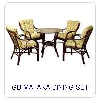 GB MATAKA DINING SET